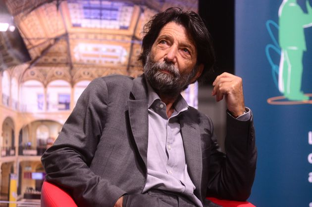 BOLOGNA, ITALY - SEPTEMBER 24: Italian philosopher and author Massimo Cacciari presents his latest book...