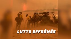 Aux États-Unis, les pompiers face au pire feu de forêt de l'histoire du