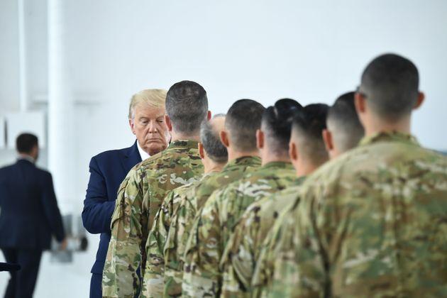 Trump e i militari, storia di un disamore