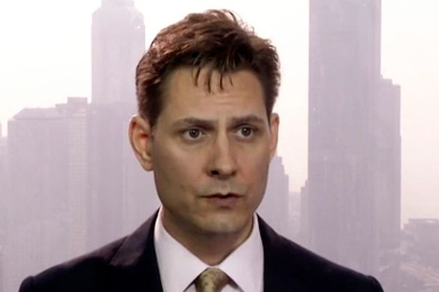 This screenshot shows former Canadian diplomat Michael Kovrig in March 2018. Kovrig was working in China...