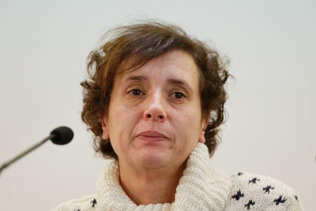 Teresa Romero, en una comparecencia ante los