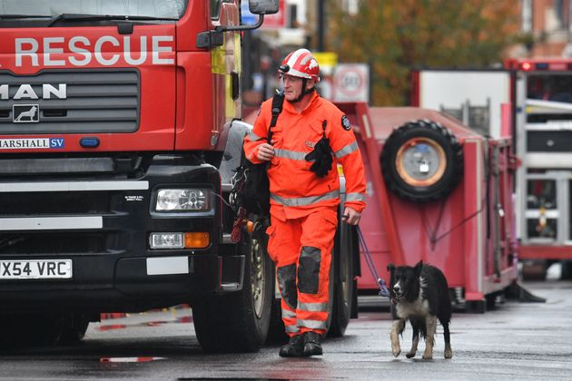 Rescue crews are at the scene in west London where it is feared there have been fatalities
