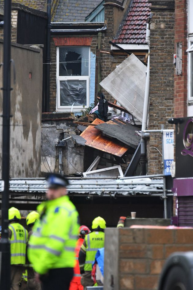 Ealing Gas Explosion: People Feared Dead As Firefighters Search Collapsed Building