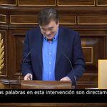 El diputado de Teruel Existe sube a la tribuna, deja todo claro y genera un