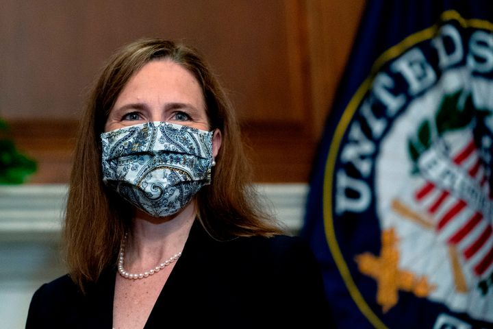 Judge Amy Coney Barrett, President Donald Trump's nominee for Supreme Court, is staying silent on her familial ties to the Am