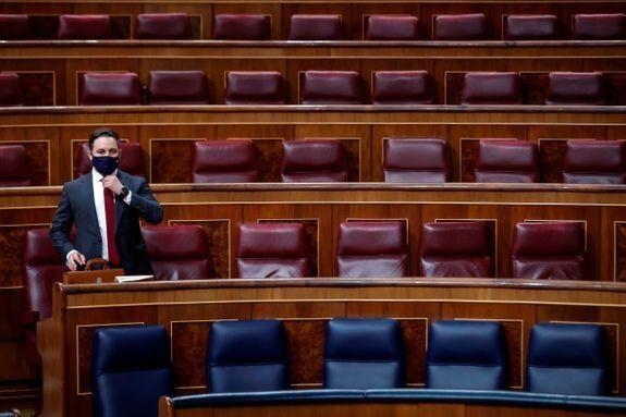 Abascal sólo en el Congreso de los