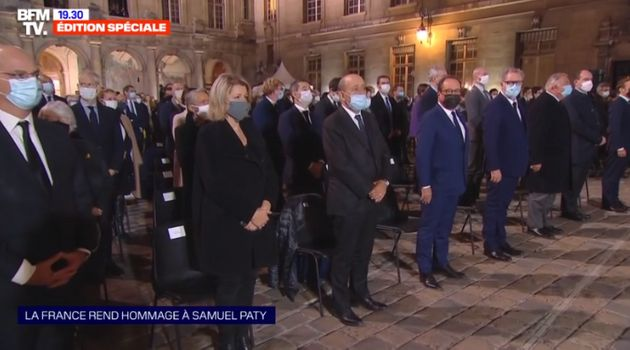 Hommage national à Samuel