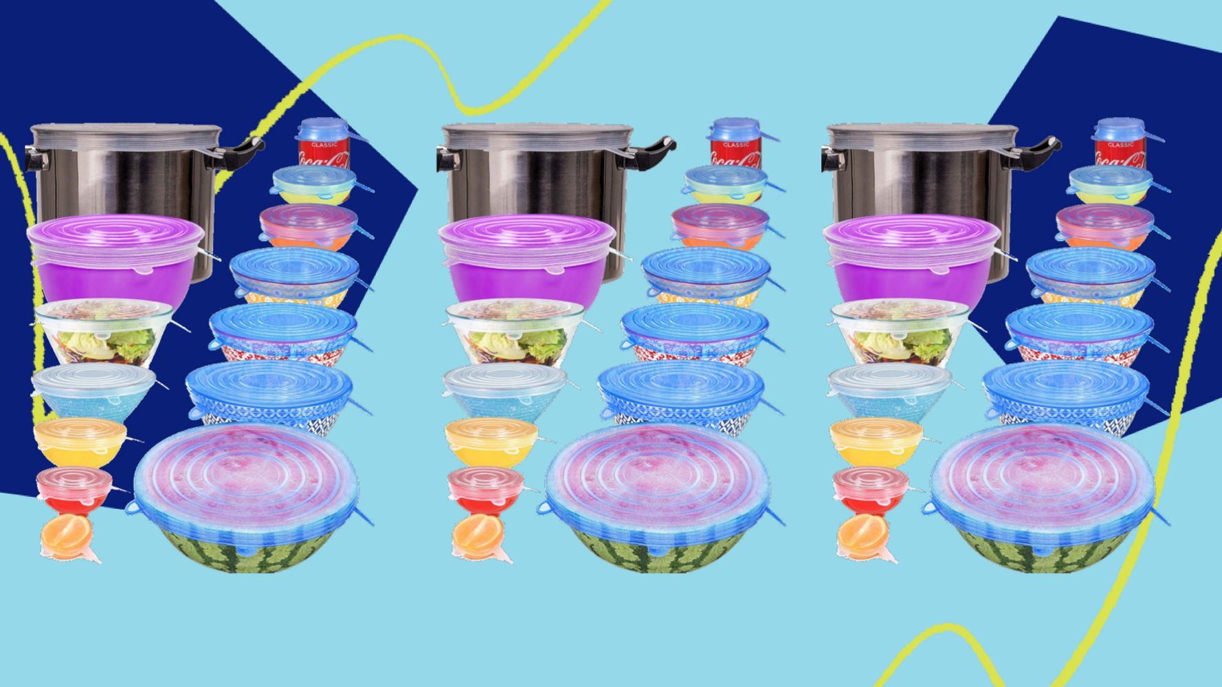 We Reviewed Those Silicone Stretch Lids For Bowls, Pots, Jars And Cups