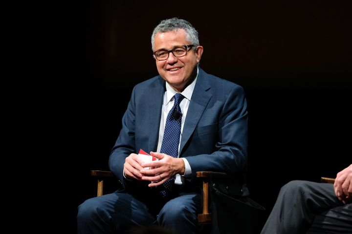 Jeffrey Toobin at the SAG-AFTRA Foundation's Conversations with Tom Brokaw in 2016. The New Yorker writer and legal analyst is in the news this week after reportedly masturbating on a work video call.