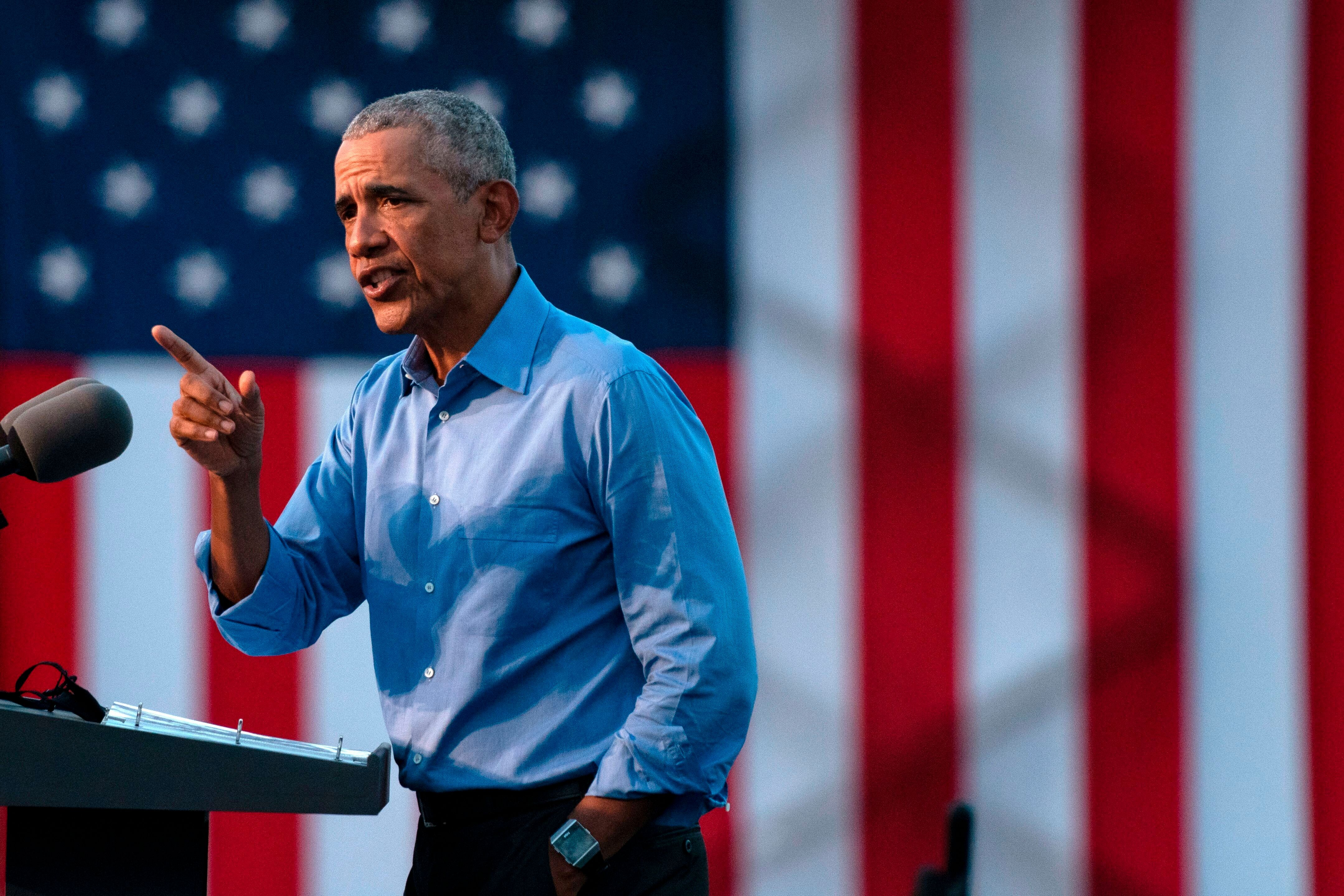 Obama: Trump Can't Even Protect Himself From The Coronavirus