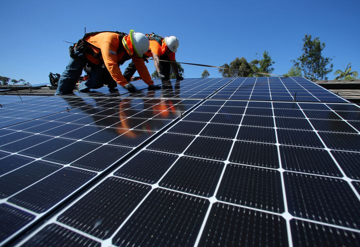 Rewiring America's plan calls for the federal government to guarantee low-cost financing for rooftop solar the same way it does for home buying.