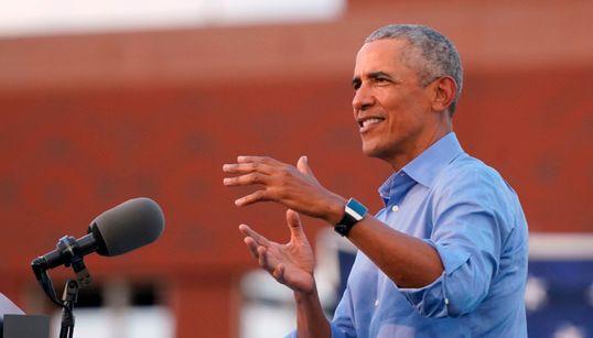 オバマ氏、トランプ大統領を痛烈批判 「彼は、彼自身を守る基礎的なこともできていない」