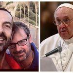 Il padre gay della telefonata col Papa: