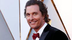 Matthew McConaughey revela que sufrió abusos sexuales cuando tenía 18