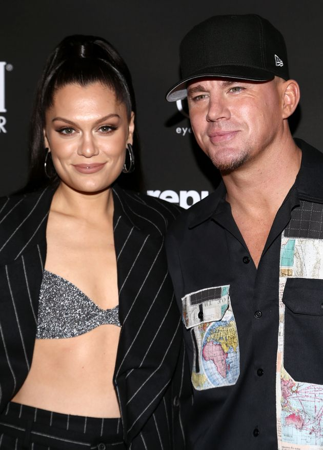 Jessie J and Channing Tatum pictured in