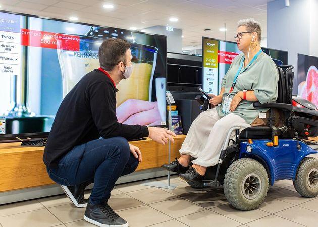 Λύσεις για ένα εκατομμύριο ανθρώπους με αναπηρία προωθεί η
