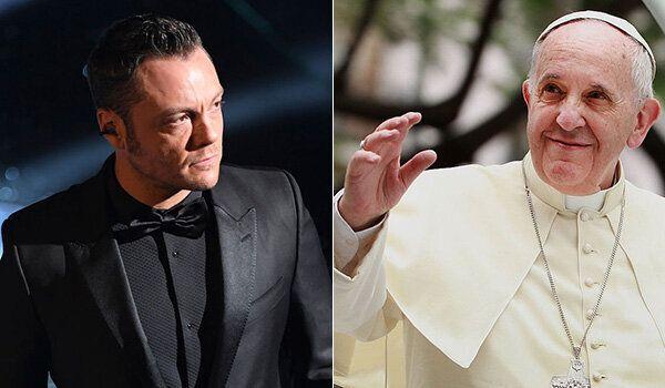 """Tiziano Ferro ringrazia Papa Francesco: """"Mi ricordi chi sono e quanto forte è la mia fede"""""""