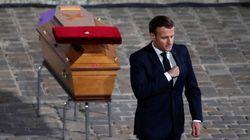 Francia rinde un emotivo homenaje al profesor que fue asesinado por un