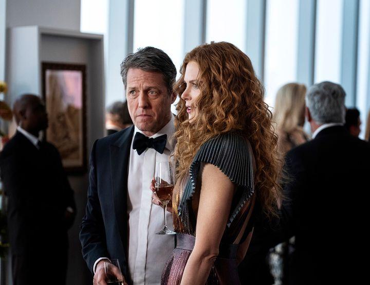"Hugh Grant and Nicole Kidman in ""The Undoing."""