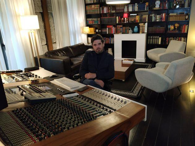 El productor musical Emilio Mercader, en su