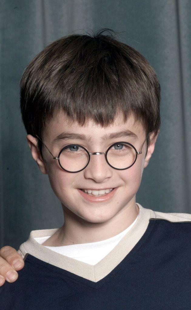 11歳の頃のダニエル・ラドクリフ(2000年8月23日撮影)