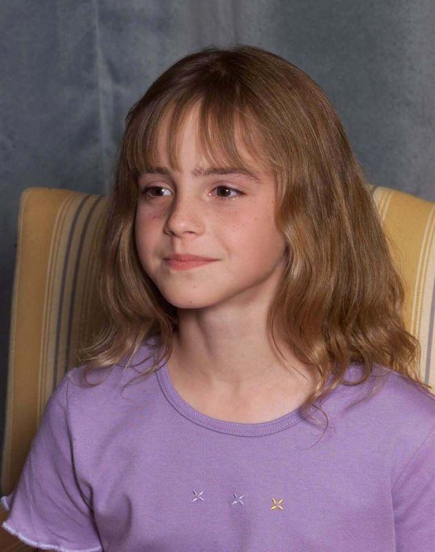 10歳の頃のエマ・ワトソン(2000年8月23日撮影)