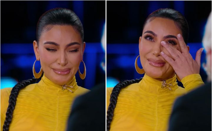 Kim Kardashian got emotional while speaking with David Letterman about her experience surviving an armed robbery in Paris.