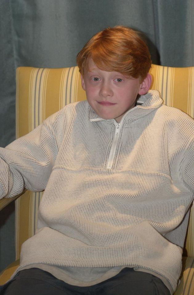 11歳の頃のルパート・グリント(2000年8月23日撮影)