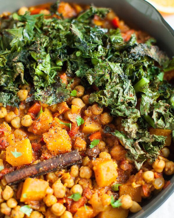 Chickpea and Butternut Squash Tagine from Sweet Potato Soul