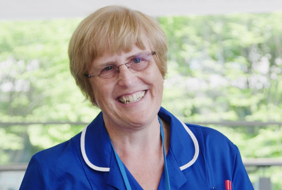 Professor Judith Ellis , who came out of retirement and worked at the Nightingale in