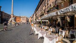 Roma a poche ore dal coprifuoco. Piazze già transennate (di G.