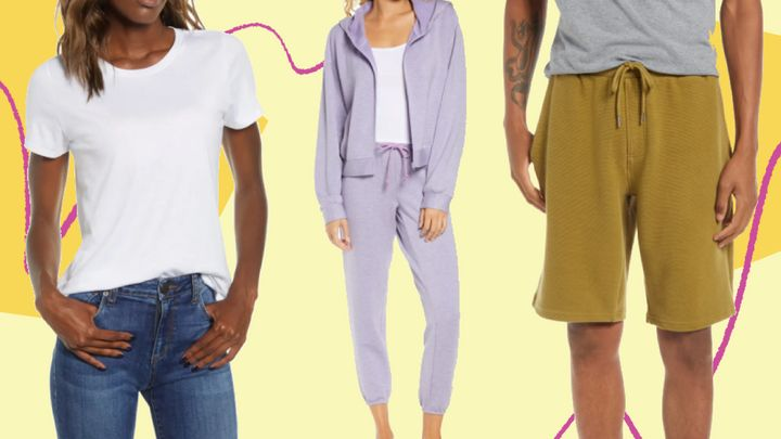 Nordstrom just marked down a bunch of basics, loungewear and cozy knits.