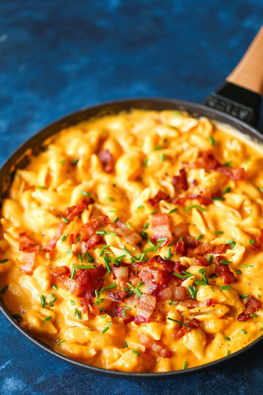 Butternut Squash Mac and Cheese from Damn Delicious