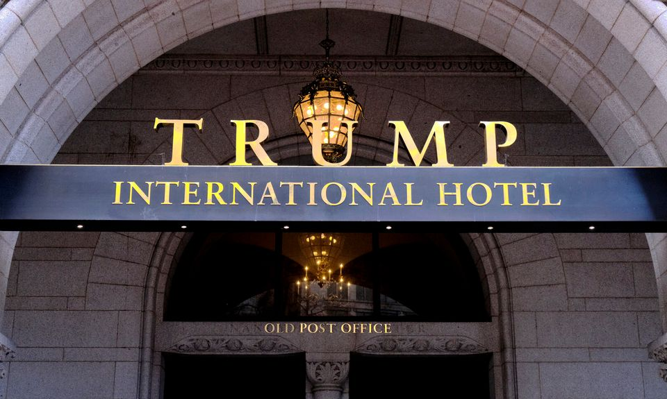 Trump has continued to promote and visit his own properties, using them for campaign and government