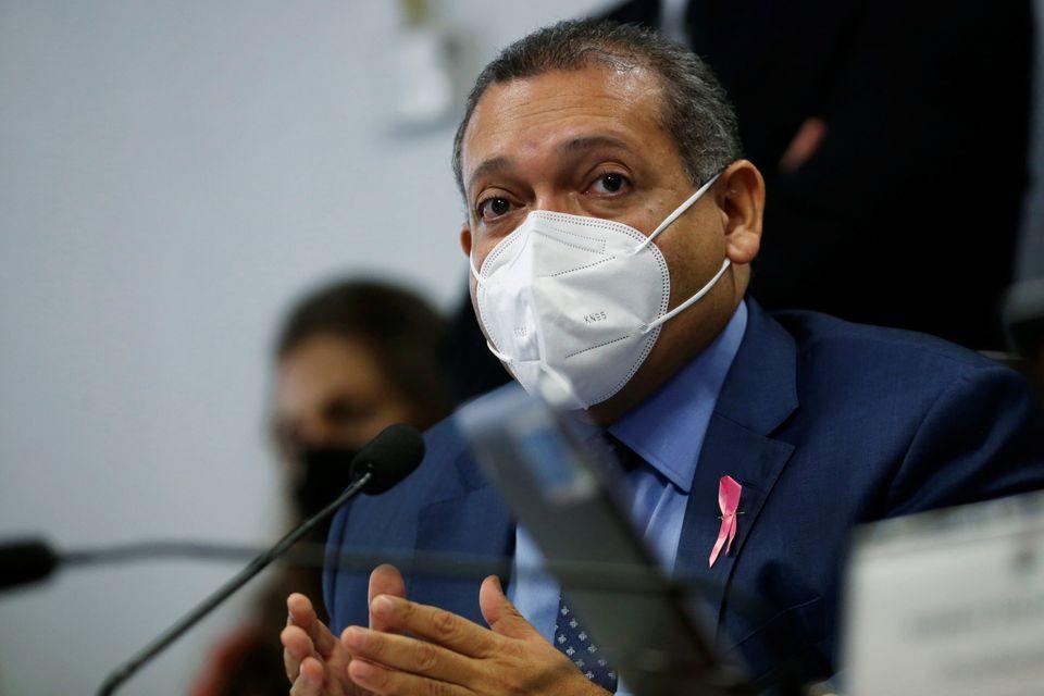 O juiz Kassio Nunes, indicado do Presidente Jair Bolsonaro para o próximo Supremo Tribunal de...