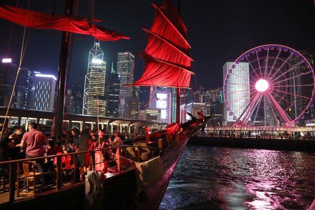 홍콩. 2020년