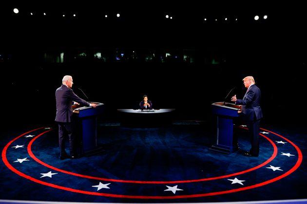Joe Biden et Donald Trump ont réussi à débattre sans se couper la parole à...