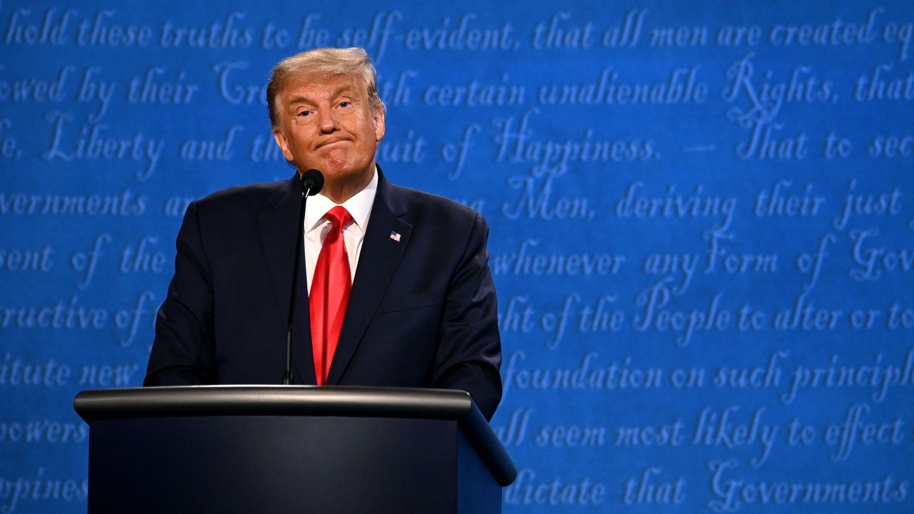Trump's Debate Hail Mary: Lie After Brazen, Incoherent Lie