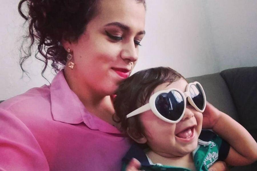 Ágata Mostardeiro que, finalmente, em 2020, pôde registrar seu filho como mãe