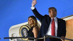 Melania lo ha vuelto a hacer: dedica a Trump ese gesto al que ya le tiene