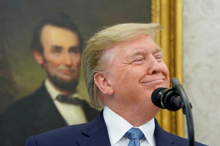 President Donald Trump has often name-dropped Abraham Lincoln in boasting of his record on race.