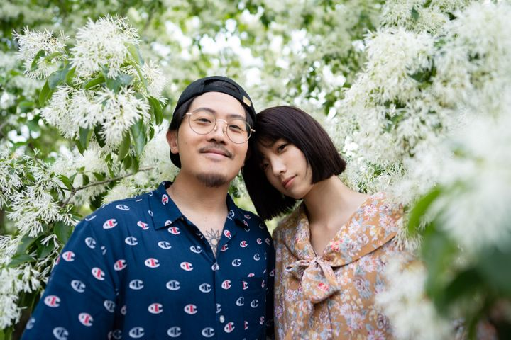 夫・ダイスケさんと妻・ちゃんまりさん