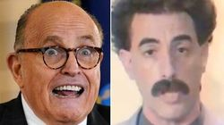 New Borat Video Mocks Giuliani With A 'Defense' That's Definitely Not Gonna