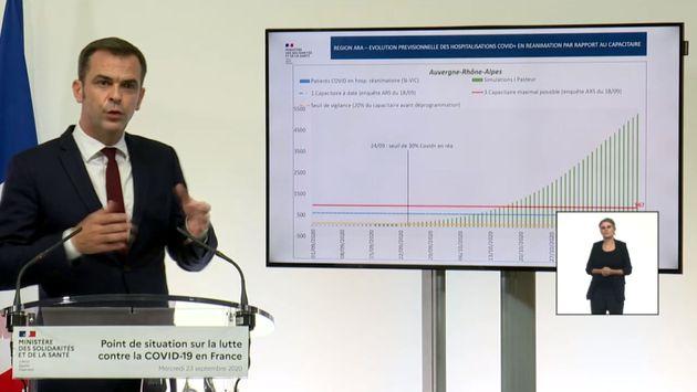 Les projections de l'épidémie de Covid-19 présentées par le gouvernement sont réalisées par l'Institut