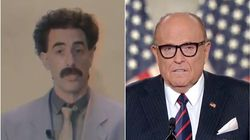 Borat défend Rudy Giuliani après l'avoir