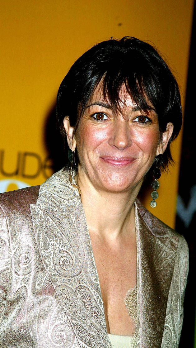 Ghislaine Maxwell pictured in New York in 2004