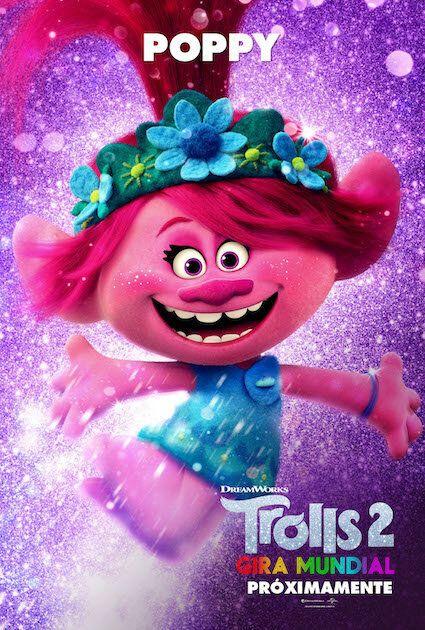 Poppy, la protagonista de 'Trolls