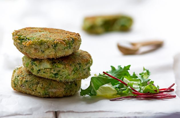 Broccoli fritters and