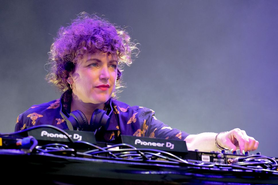 Annie performing at Camp Bestival in summer 2019