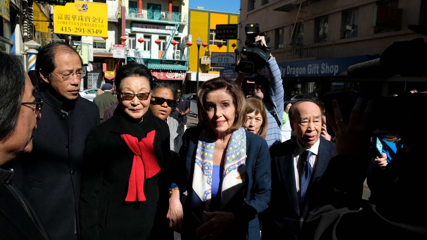 No, Nancy Pelosi Was Not 'Dancing In The Streets Of Chinatown'